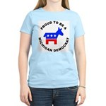 Michigan Democrat Pride Women's Light T-Shirt