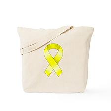 Yellow Ribbon Tote Bag