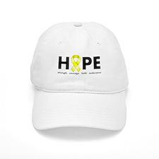 Yellow Ribbon Hope Baseball Cap