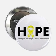 "Yellow Ribbon Hope 2.25"" Button"