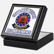 USS Independence Keepsake Box