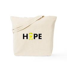 Yellow Ribbon Hope Tote Bag