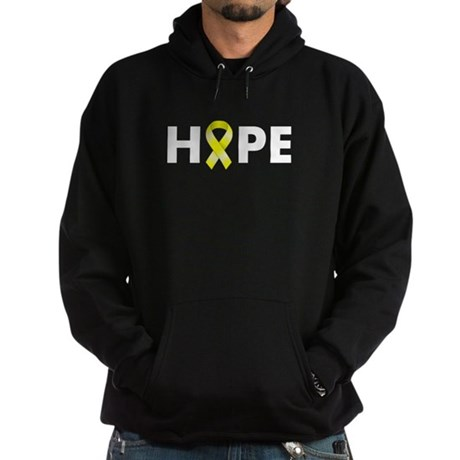 Yellow Ribbon Hope Hoodie (dark)