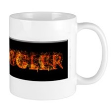 Fire Juggler Small Mugs