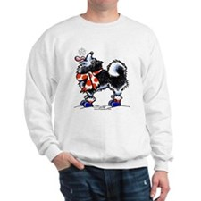 Alaskan Malamute Snowflake Sweatshirt