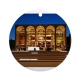Lincoln center Round Ornaments
