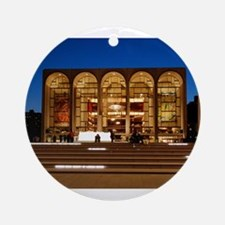 NYC: Lincoln Center Ornament (Round)