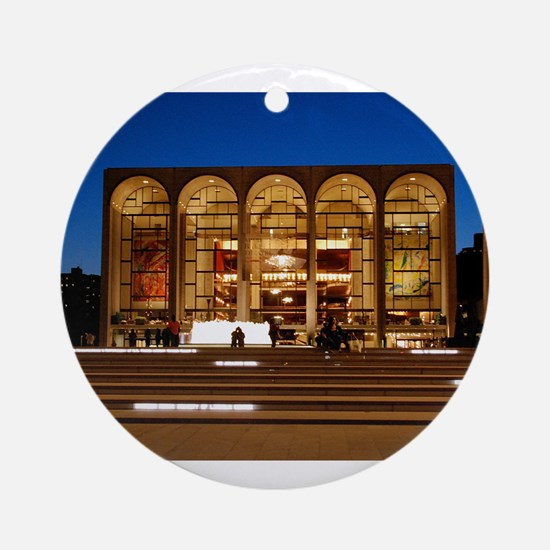 NYC: Lincoln Center Ornament (Round)