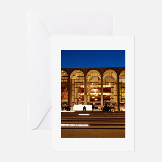 NYC: Lincoln Center Greeting Card