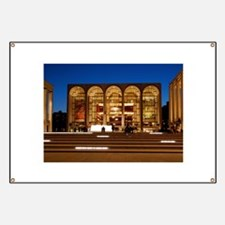 NYC: Lincoln Center Banner