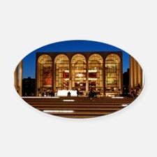NYC: Lincoln Center Oval Car Magnet