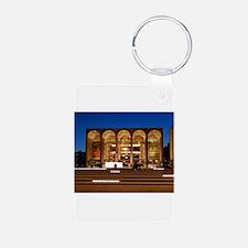 NYC: Lincoln Center Aluminum Photo Keychain