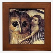 Bosch Earthly Delights (Detail) Framed Tile
