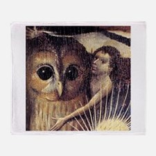 Bosch Earthly Delights (Detail) Throw Blanket