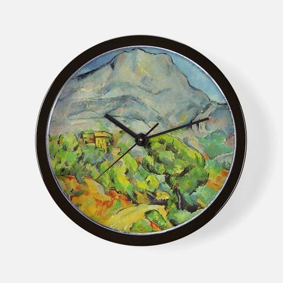 Cezanne Mont Sainte-Victoire Wall Clock