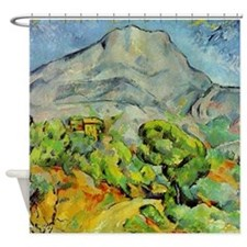 Cezanne Mont Sainte-Victoire Shower Curtain