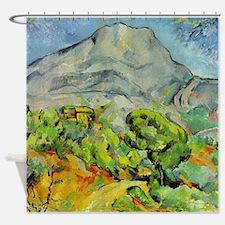 Cezanne Mont Sainte-Victoire Shower Curtain
