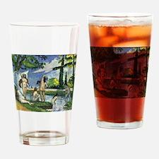 Paul Cezanne Bathers Drinking Glass
