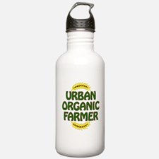 Urban Organic Farmer Sports Water Bottle