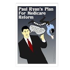 Paul Ryan and Medicare Reform Postcards