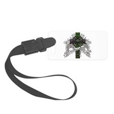 MacCallum Tartan Cross Luggage Tag