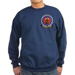 2-sided Navy Veteran Sweatshirt (dark)