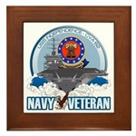 USS Independence Framed Tile