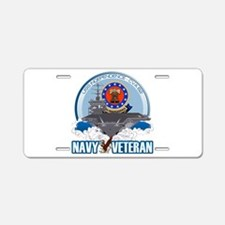 USS Independence Aluminum License Plate