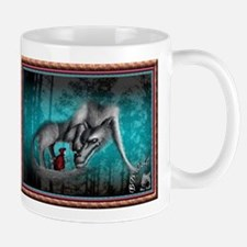 Red Meets the Wolf Mug