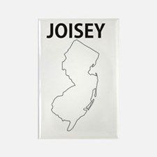 Joisey Rectangle Magnet