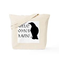 Great Odins Raven! Tote Bag
