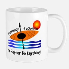 pharmacy technician kayaking.PNG Mug