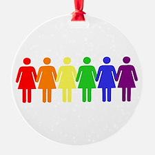 Rainbow Women, Lesbian Pride, Lgbt Ornament