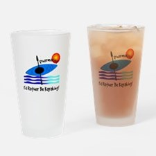 pharmacist kayaker.PNG Drinking Glass