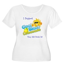 Cool Blast Lemonade Logo T-Shirt