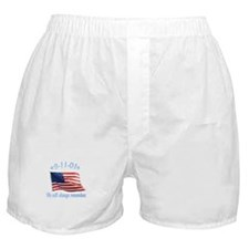 9/11 Tribute - Always Remember Boxer Shorts