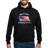 9 11 memorial Dark Hoodies