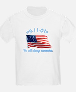 9/11 Tribute - Always Remember T-Shirt