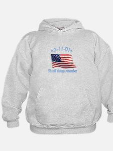 9/11 Tribute - Always Remember Hoodie