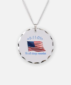 9/11 Tribute - Always Remember Necklace