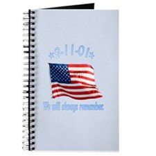 9/11 Tribute - Always Remember Journal