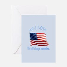 9/11 Tribute - Always Remember Greeting Card