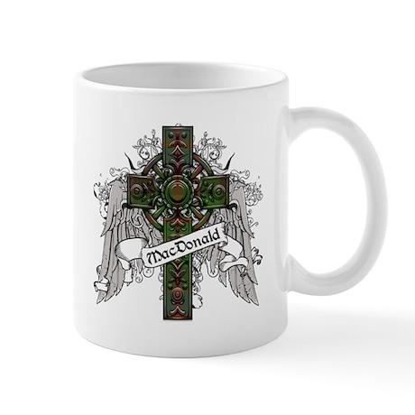 MacDonald Tartan Cross Mug