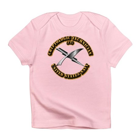 Navy - Rate - CT Infant T-Shirt