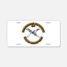 Navy - Rate - CT Aluminum License Plate