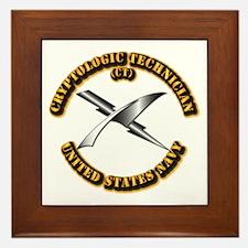 Navy - Rate - CT Framed Tile