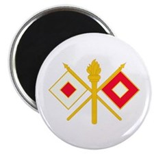"""596th Signal Company 2.25"""" Magnet (100 pack)"""