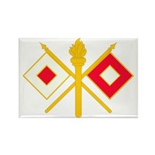 596th Signal Company Rectangle Magnet