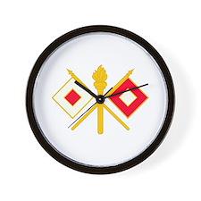 596th Signal Company Wall Clock