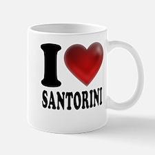 I Heart Santorini Mug